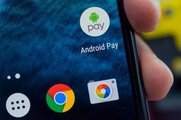 Оплата через Андроид Пэй