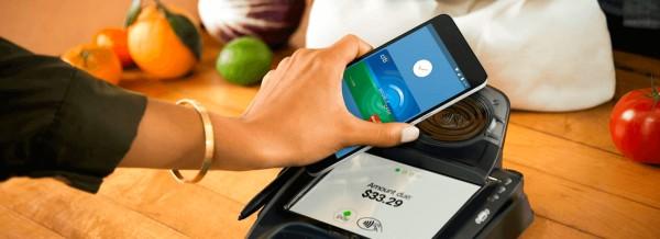 совершаете платежи, просто приблизив смартфон к платежному терминалу
