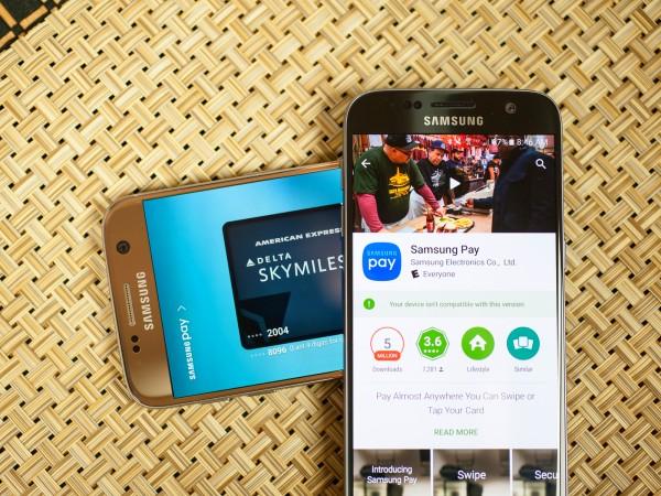 Приложение Samsung Pay не работает
