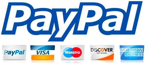 PayPal поддерживает все платежные карты