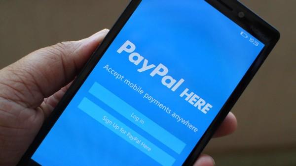 PayPal на смартфоне